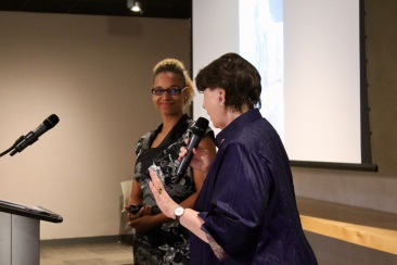 Senator McPhedran introduces Shamin Brown