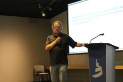 Dr. Lloyd Kornelsen speaking about global citizenship