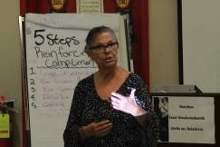 Elder Leslie Spillett speaks at Ka Ni Kanichihk