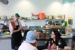 Chef Grant Mitchell speaks about food security and healthy eating at NorWest CFC